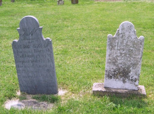 Jacob and Catharine Staley Grove's Headstones