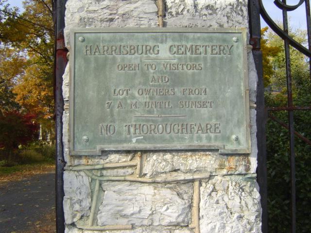 Harrisburg Cemetery, Dauphin County, Pennsylvania