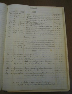 Death Records for the year 1851