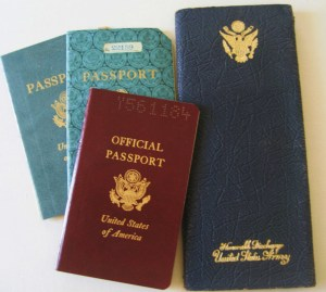 Dad's Passports and Army Discharge