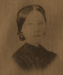 Mary Jane Ziegler Gantt Carvell, probably taken about the time of their marriage