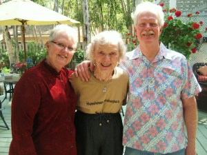 Bud, Linda and Mother, Mother's Day 2008