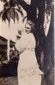 1920, First Known picture  of Mother