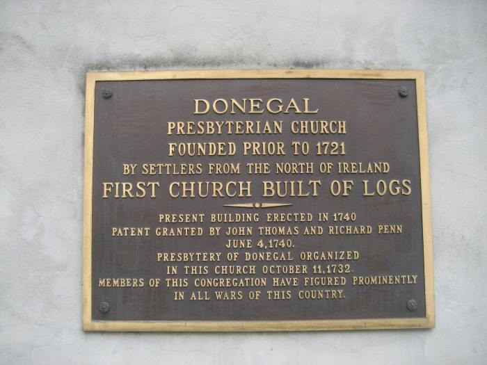 Donegal Presbyterian Church, Lancaster County, Pennsylvania