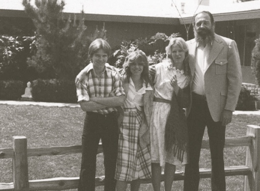 One Easter in the early 1980's (Farrah Fawcett hairdo, anyone??)